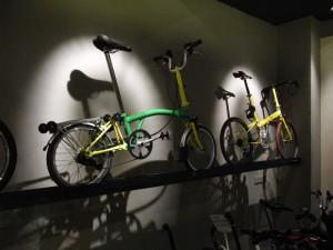 Brompton と Bike Friday
