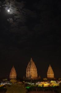 プランバナン夜景2