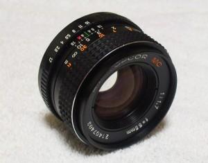 AM Topcor 55mm 1.7